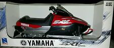 New Ray 1/12 Scale Yamaha SX Viper (RED) Diecast Collectable Snowmobile. Rare