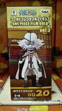 ONE PIECE WCF FILM GOLD Vol. 3 WHITEJACK FIGURA FIGURE 20 NEW NUEVA