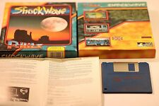 AMIGA 500 GAME SHOCK WAVE BY PC HITS & PRISM LEISURE1993 3.5 FLOPPY DISC