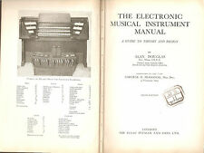 The Electronic Musical Instrument Manual - Pitman 1968 Hammond - Wurlitzer
