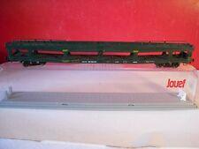 JOUEF wagon porte-voitures SNCF avec boite cristal éch HO réf 6576
