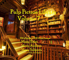 CD - Pulp Fiction Library Vol. 7 - 350 eBooks (Re-Sell Rights)