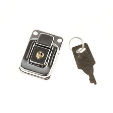 Drawbolt Closure Latch for Guitar Case or luggage with lock ,Chrome 6443B 48mm