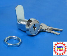 "Cabinet Lock/Coin Door Lock, 7/8"" Double Bitted - Bally, Gottlieb, Williams more"