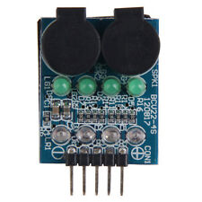 Low Voltage Buzzer Indicator Alarm Dual Speakers LED for 2S/3S/4S Li-Po Battery