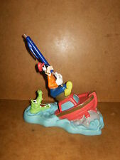 Ancienne figurine PORTE BROSSE A DENTS - Dingo Goofy Pippo - DISNEY - GROSVENOR