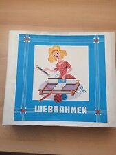 DDR Webrahmen VEB Kamenzer Spielwaren Model 7 OVP Mit Anleitung