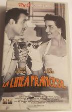 LA LINEA FRANCESE VHS SIGILLATA