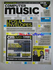 COMPUTER MUSIC Magazine 129 Summer 2008 Lfos & Envelopes Ubuntu Studio No dvd cd