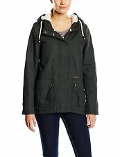 Billabong Women ITI Winter Jacket Coat Off Black - S (10-12) U3JK10BIF5 RRP £135