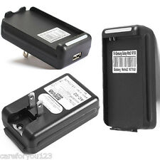 External USB Battery Wall Travel Charger Dock for Samsung Galaxy Note 2 N7100