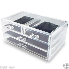 4 Drawer Acrylic Jewelry & Cosmetic Storage Display Box