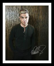 ROBBIE WILLIAMS AUTOGRAPHED SIGNED & FRAMED PP POSTER PHOTO 3