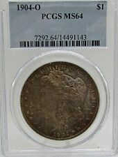1904 O  Morgan Dollar PCGS  MS 64 Toner Toned Both Sides Excellent Eye Appeal