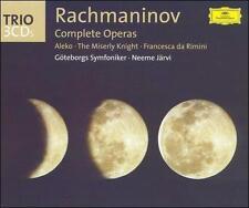 Rachmaninov: Complete Operas (CD, Jun-2004, 3 Discs, DG Deutsche Grammophon)