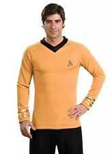 Star Trek Classic Deluxe Captain Kirk Uniform Shirt Size L