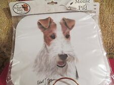WIRE FOX TERRIER    by ROBERT MAY ~  MOUSE PAD