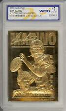 DAN MARINO 2000 23KT Gold Card NFL All-Time Passing Leader GEM MINT 10 * BOGO *