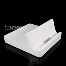 Original Apple iPad Docking Station Charger Cradle Sync For iPad 2 New iPad 3