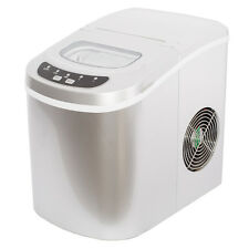 Smad Compact Countertop Ice Maker Machine Travel Bullet Sliver 12kgs/day