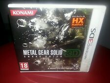 Nintendo 3DS   Metal Gear Solid Snake Eater 3D    ITA
