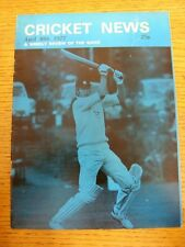 30/04/1977 Cricket News: Vol.01 No.01 - A Weekly Review Of The Game, Cover Image