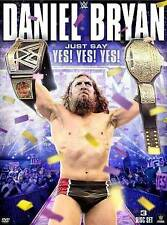 WWE: Daniel Bryan - Just Say Yes Yes Yes (DVD, 2015, 3-Disc Set) Brand New