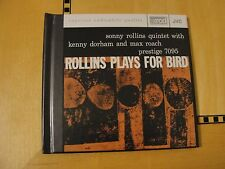 Sonny Rollins Quintet - Rollins Plays for Bird XRCD CD JVCXR-0055-2