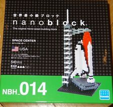 Nanoblock Space Center Micro Blocks Construction Toy mini Nano Block NBH014