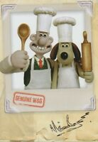 NICK PARK Signed 8x6 Photo Card WALLACE AND GROMIT COA