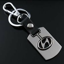 Alloy Metal Key Chain Ring for HYUNDAI i10 i20 Elite Santa Accent Eon Elantra