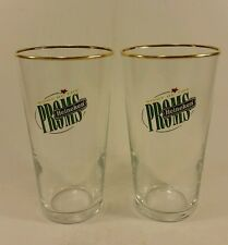 Heineken beer glasses Night Of The Proms pair high ball drink cocktail glass