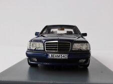 Mercedes-Benz E60 AMG W124 1/43 Neo 45540 Mercedes E-Class E-Klasse BLUE