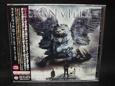 LIONVILLE A World Of Fools + 1 JAPAN CD Work Of Art Italian Melodious Hard/AOR !