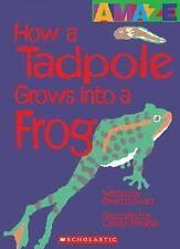How a Tadpole Grows Into a Frog (Amaze (Hardcover))-ExLibrary