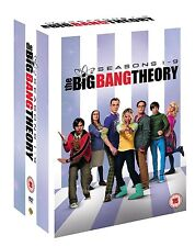 The Big Bang Theory Season 1 + 2 + 3 + 4 + 5 + 6 + 7 + 8 + 9 DVD NEU Staffel 1-9