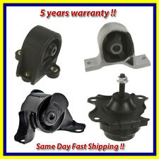 2001-2005 fits Honda Civic 1.7L Engine Motor & Trans. Mount Set 4PCS for Auto