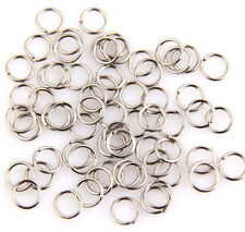 10mm dull silver jump Rings Open Connectors Jewelry Finding for making,150pcs