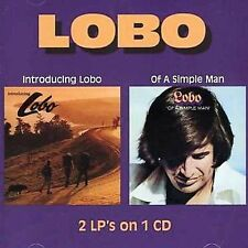 Introducing Lobo/Of a Simple Man- Lobo (CD, 2005) Rare Wounded Bird Reissue!!!