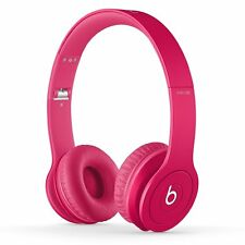 Brand New Beats Solo HD On-Ear Headphones Drenched in Pink