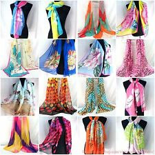 US SELLER |lot of 10 bulk lot Wholesale Fashion Scarves chiffon scarf wrap shawl