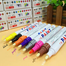 Waterproof Rubber Metal Permanent Paint Marker Pen For By Car Motorcyc Tyre Tire