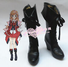 AKB0048 Kashiwagi Yuki Black Halloween Long Black Girls Cosplay Shoes H016