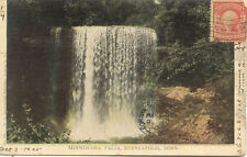 CPA USA ETATS-UNIS MINNEAPOLIS MINN minnehaha falls stamp timbrée 1905