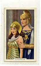 (Js257-100) Gallaher,Shots From Famous Films,Cleopatra, 1935 #14
