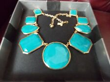 Large Stone Blue  Kate Spade New York Necklace