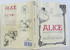 LEWIS CARROLL AND RALPH STEADMAN Alice in Wonderland FIRST EDITION