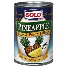 Solo Pineapple Cake and Pastry Filling, 12-Ounces (Pack of 6)