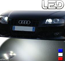 AUDI A6 C6 2 Ampoules LED blanc Eclairage Veilleuses Feux Position anti erreur