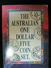 Australia One Dollar Uncirculated Five Coin Set